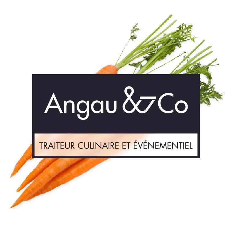 Yobologo Rennes création de logo et identité visuelle pour le traiteur de Rennes Angau & Co