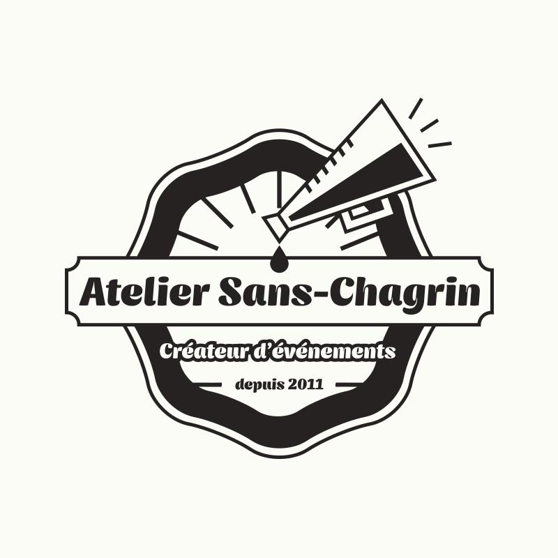 Yobologo Rennes création de logo et identité visuelle pour l'atelier-sans-chagrin à côté de Saint Malo