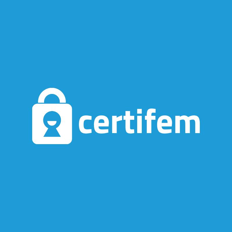 Yobologo Rennes création de logo et identité visuelle pour la startup de rennes Certifem