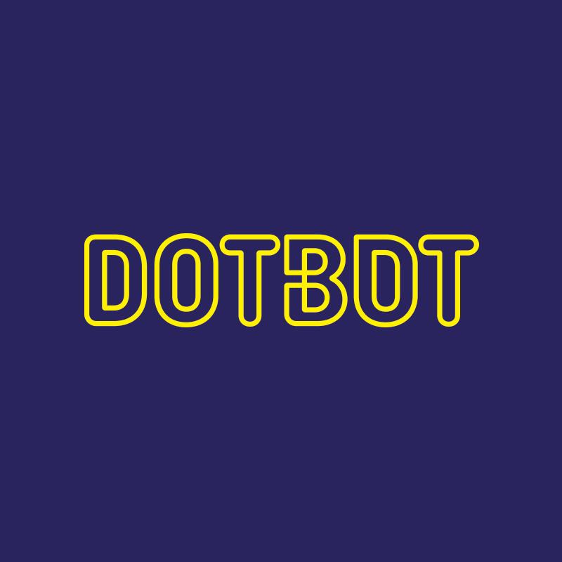 Yobologo Rennes création de logo et identité visuelle pour Dotbot spécialiste de l'imagerie 3D en bretagne