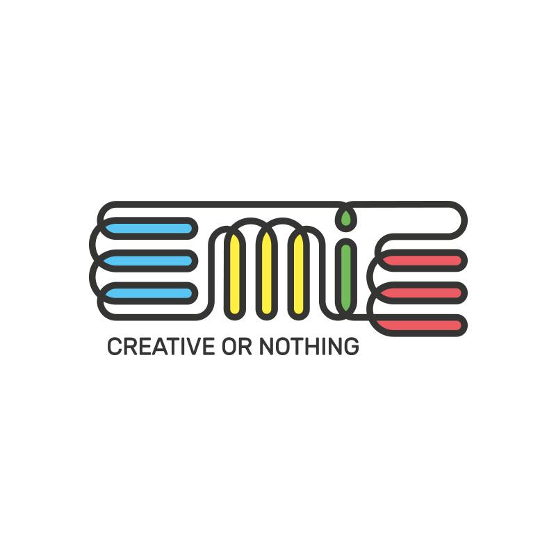Yobologo Rennes création de logo et identité visuelle pour la startup de Shenzhen Emie