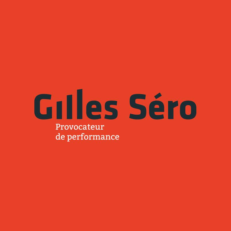 Yobologo Rennes création de logo et identité visuelle pour le coach sportif Gilles Séro à Rennes