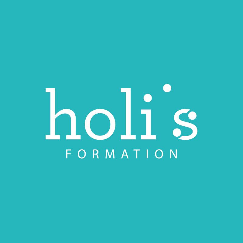 Yobologo Rennes création de logo et identité visuelle pour Holis formation basé à rennes