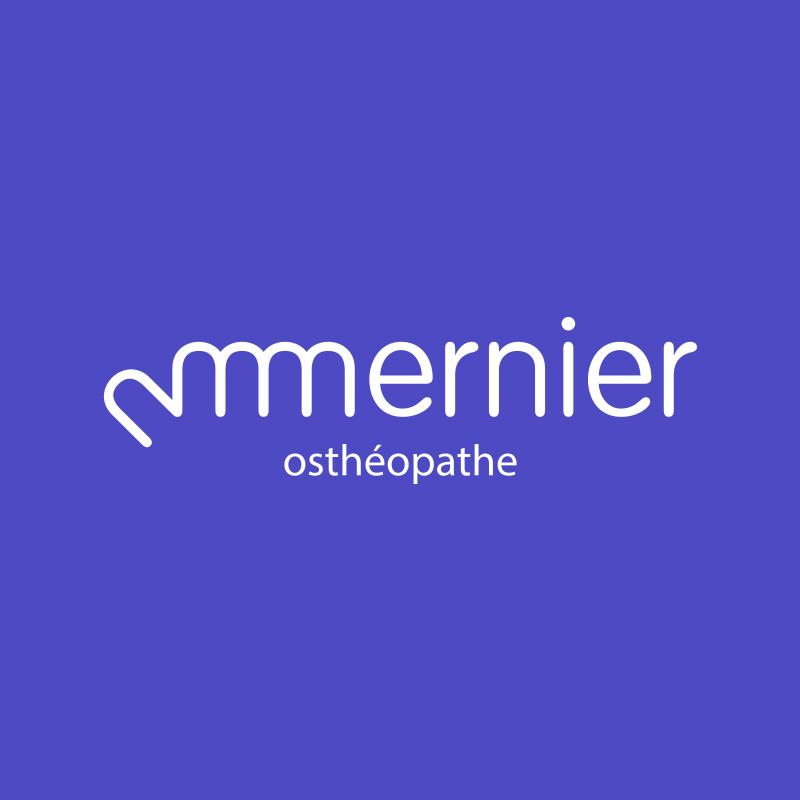 Yobologo Rennes création de logo et identité visuelle pour l'ostéopathe de Paris Mernier