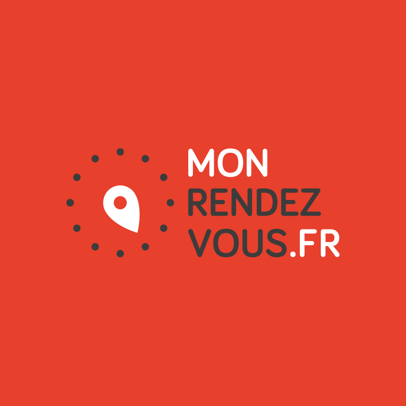 Yobologo Rennes création de logo et identité visuelle pour la startup de Rennes monrendezvous.fr