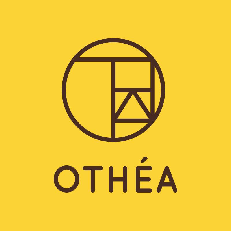 Yobologo Rennes création de logo et identité visuelle pour l'agence de Rennes Othéa