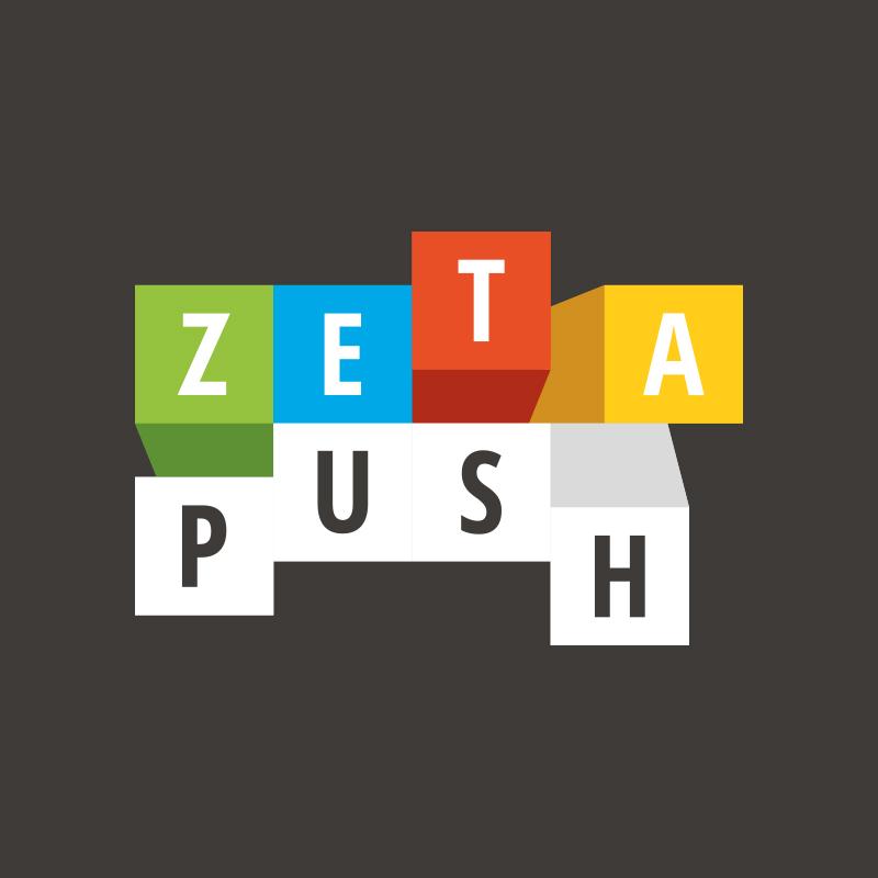 Yobologo Rennes création de logo et identité visuelle pour la startup rennaise Zeta Push