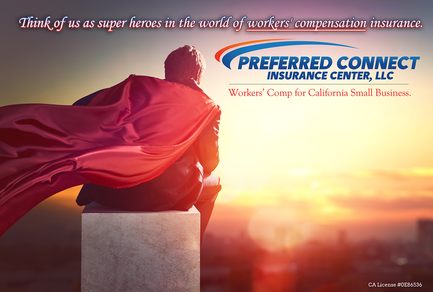 workers compensation insurance super hero