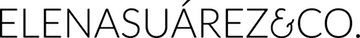 Elena Suárez & Co. Flower Style Logo