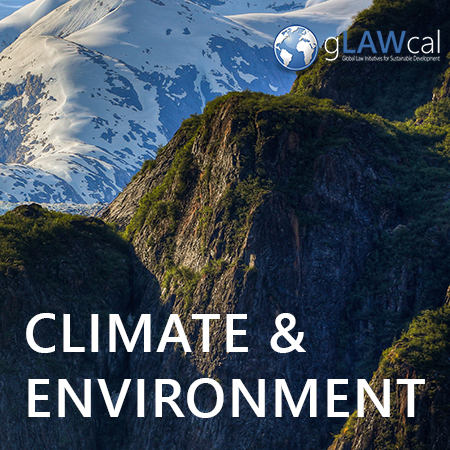 Improvements in people's economic wellbeing have increased citizen demands for a cleaner environment. As societies undergo the transition to industrial development and modernity, their citizens begin to concern themselves with needs and wants beyond the material, including the protection of the environment. However, growing levels of environmental consciousness and awareness are often not matched by proper environmental legislation enforcement at the local level. gLAWcal looks at environmental rights developments in developing countries, and aims at delivering policy advices and capacity building support in areas where law implementation is lacking. With this purpose, our organization seeks to improve environmental protection not only for the benefit of the populations directly affected, but also for the sake of the entire planet.