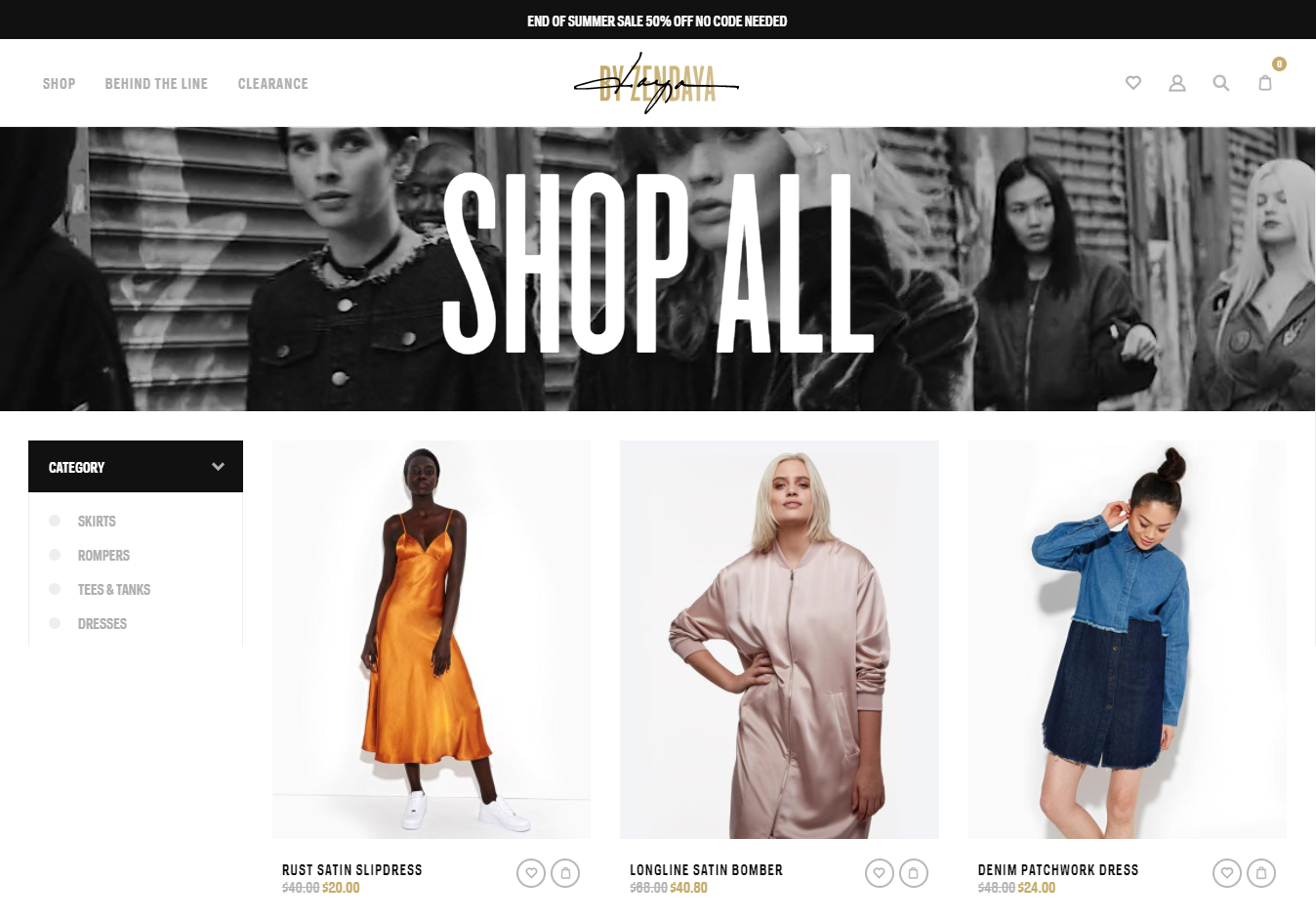 Shopify Example store