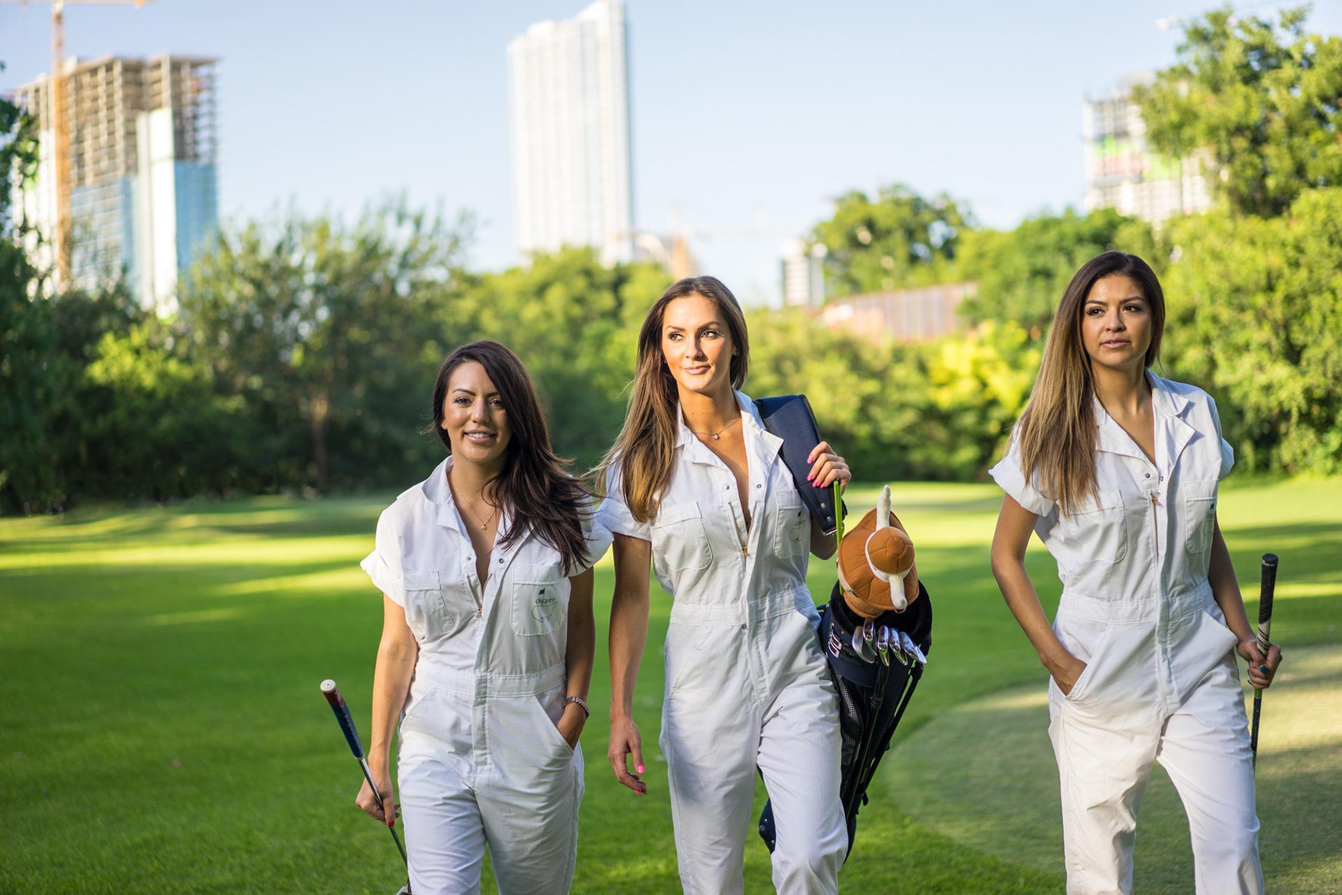 YMBL Classic Golf Criquet Caddie Girls