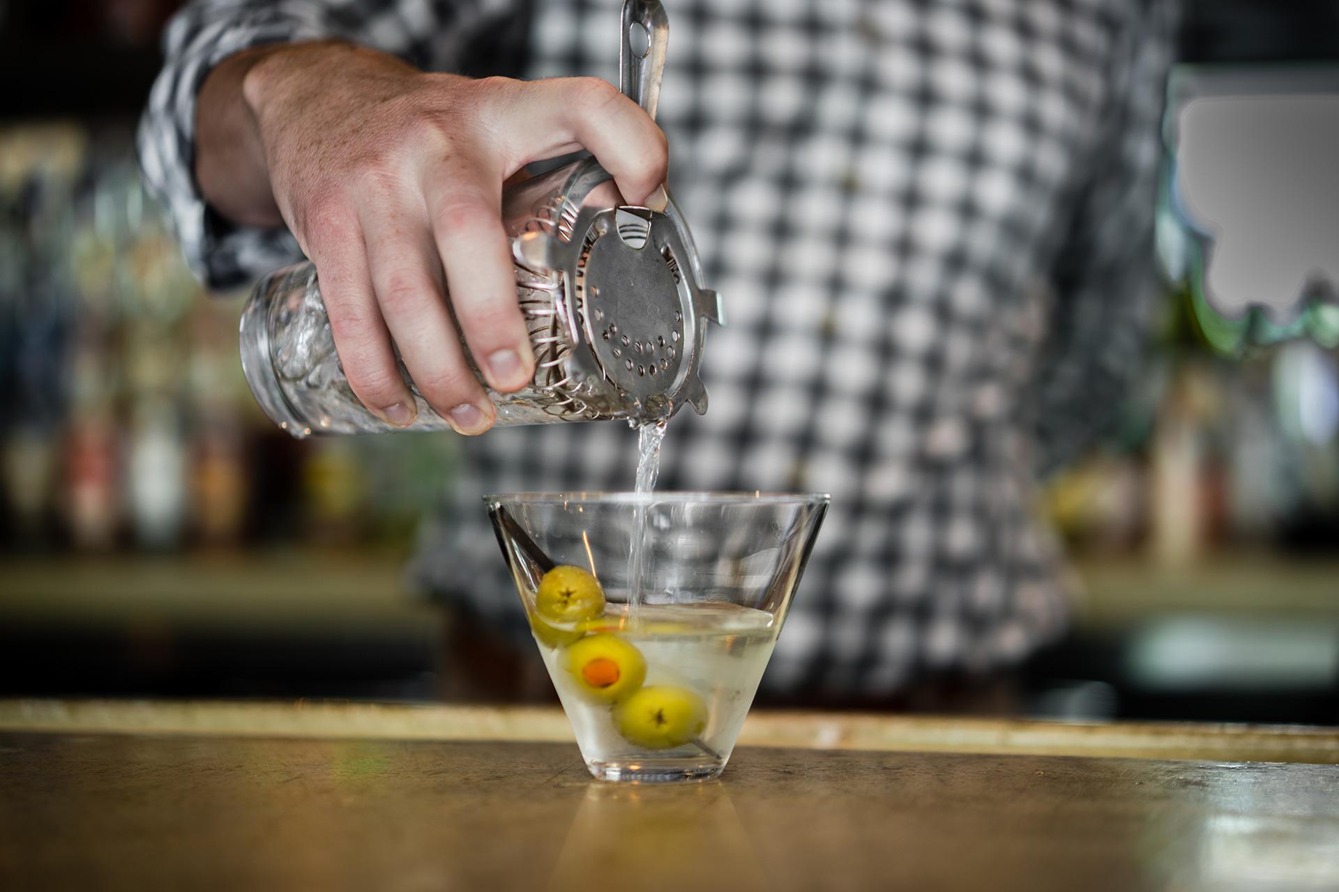 Icenhauers Bar Martini Rainey Street Austin