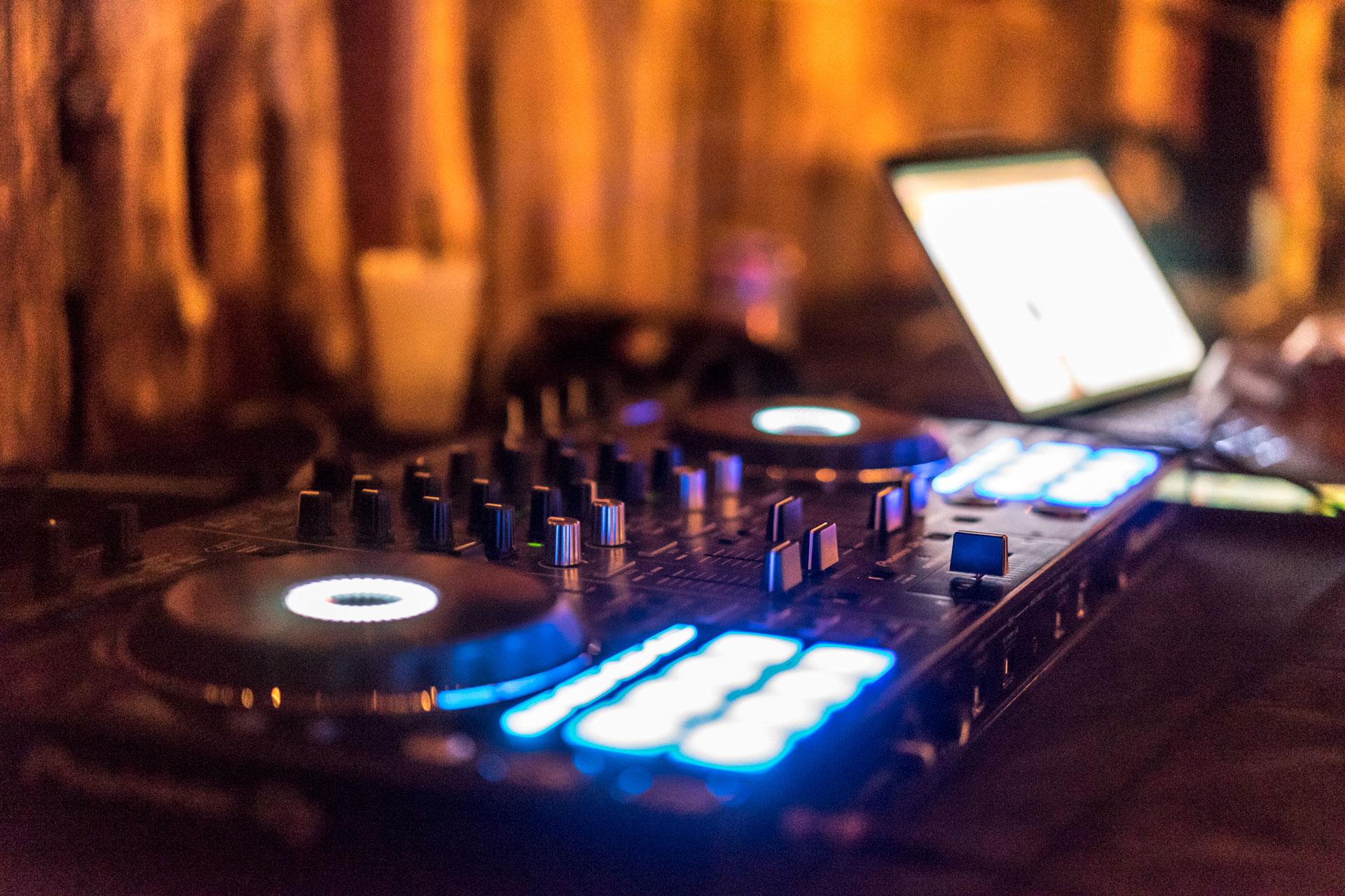 DJ Turntables Nightclub