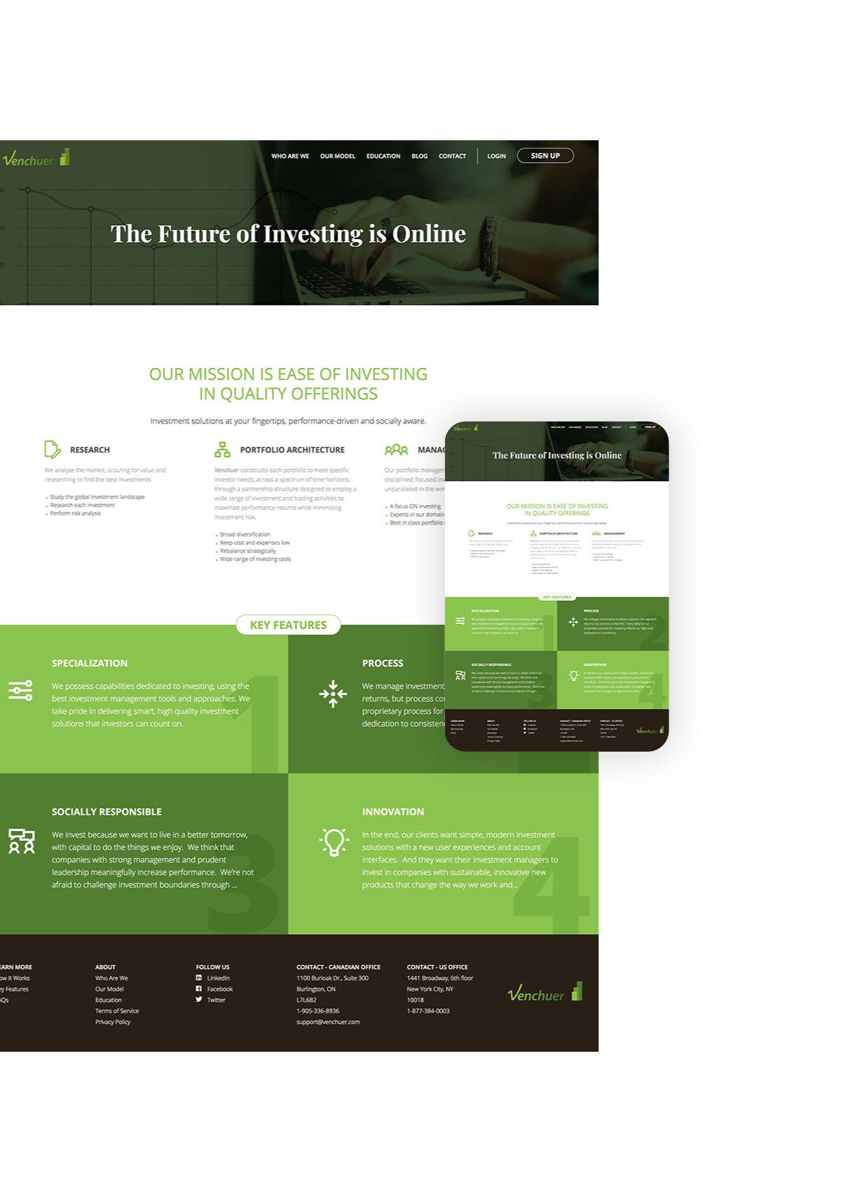 Venchuer Website