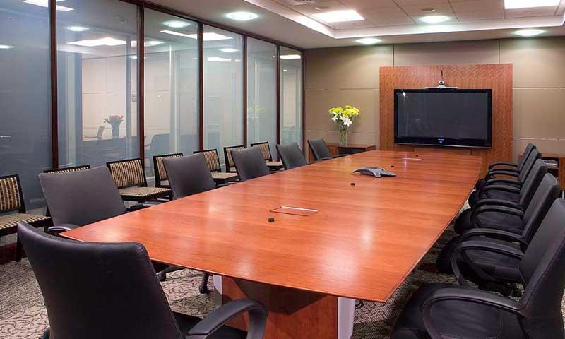 smart glass boardroom