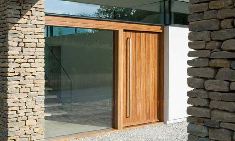 smart glass door