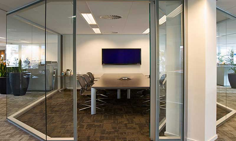 smart glass office