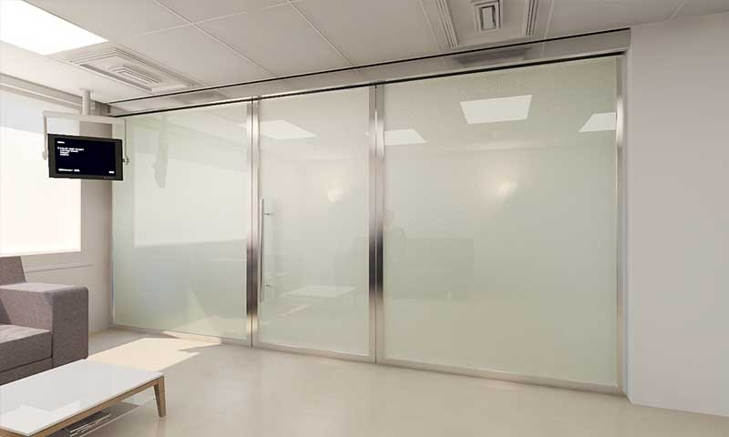 smart glass doctor office