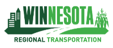 Winnesota Regional Transportation Logo