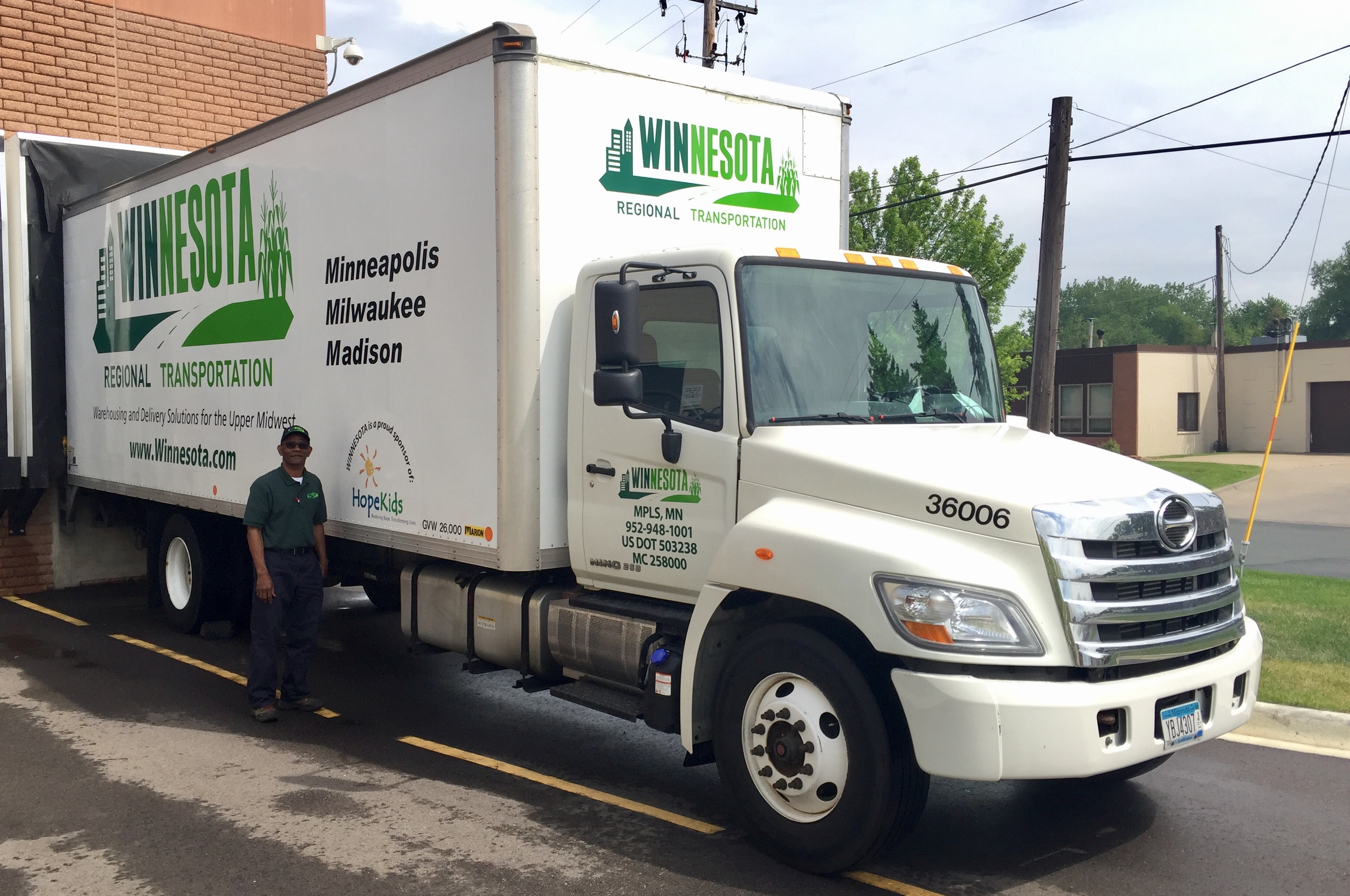Winnesota Regional Transportation Truck