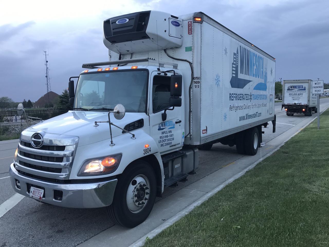 Winnesota Refrigerated Transportation Truck