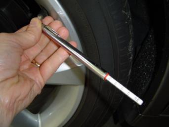 gauge in use