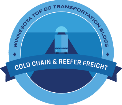 Cold Chain and Reefer Freight Badge
