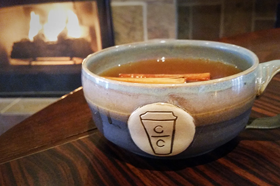 Warm Ginger Apple Cider