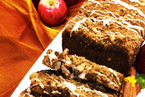 Breakfast Pumpkin Spice Bread