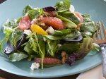 Citrus Spinach Arugula Salad
