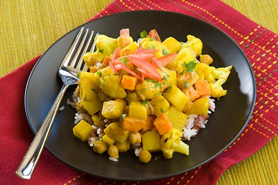 Cauliflower Potato Korma