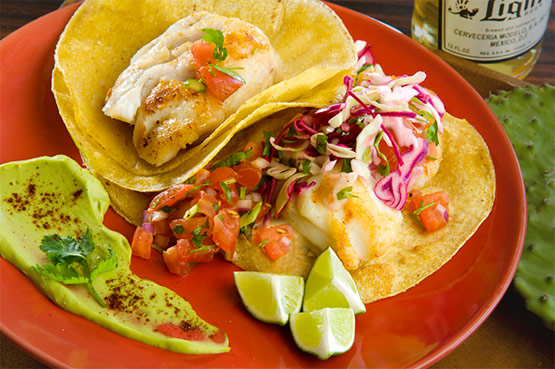 Sonoran Fish Tacos