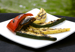 Grilled Vegetables and Marinade