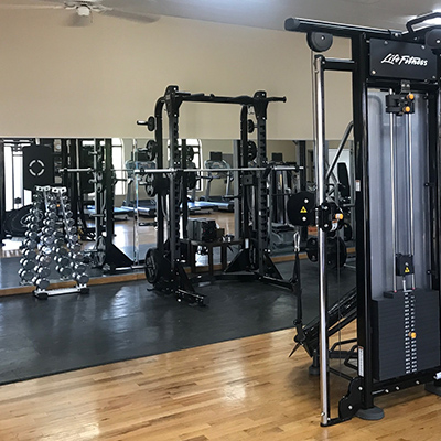 New State of the Art Fitness Equipment