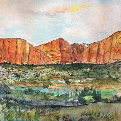 Watercolor for Those Who Don't Think They Can with Marla Snyder (Guest Presenter Mar. 1-2)