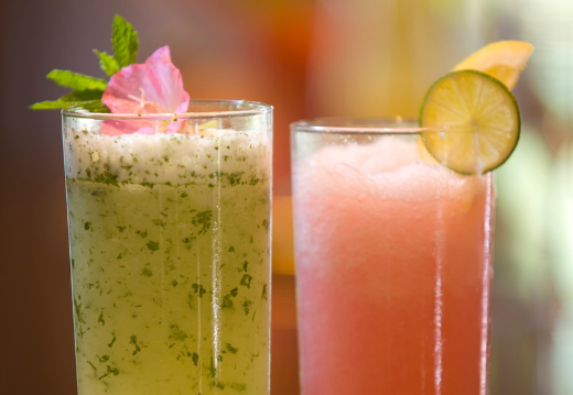 Prickly Pear Strawberry Lemonade