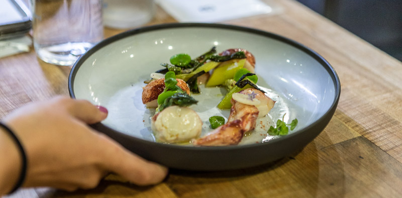 batard slideshow lobster salad