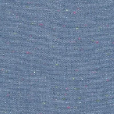Robert Kaufman - Neon Neppy - Cotton denim effect