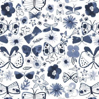 Dashwood Studio - Copenhagen - White Butterfly large