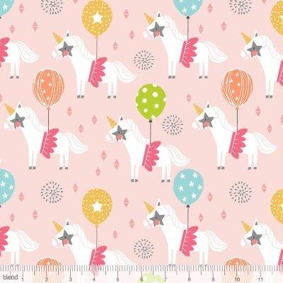 Blend Fabrics - Calliope - Carousel in Pink
