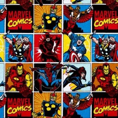 Marvel fabric