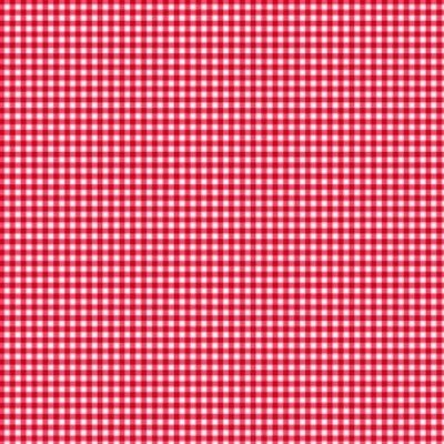Makower UK - 920/R6 Gingham Red