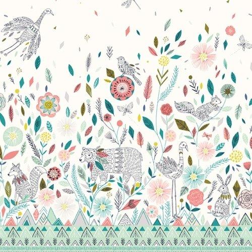 Dashwood - Boho Meadow - Boho Meadow in Cream fabric