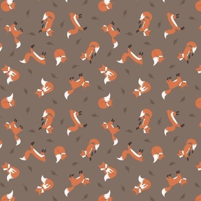 Lewis and Irene fox brown fabric