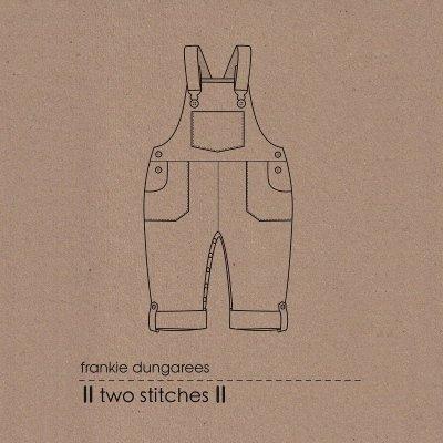 Dungaree kids sewing pattern