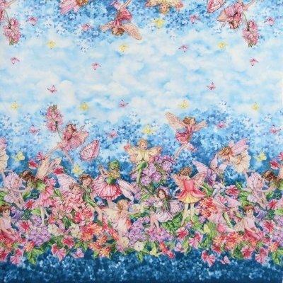Michael miller flower fairies