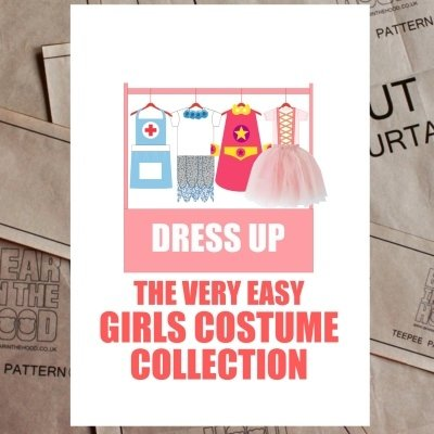 Girls dress up pattern