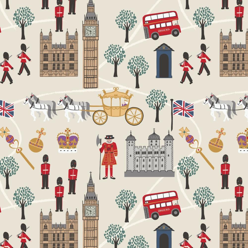 Lewis & Irene - Britannia - Royal Britannia on cream