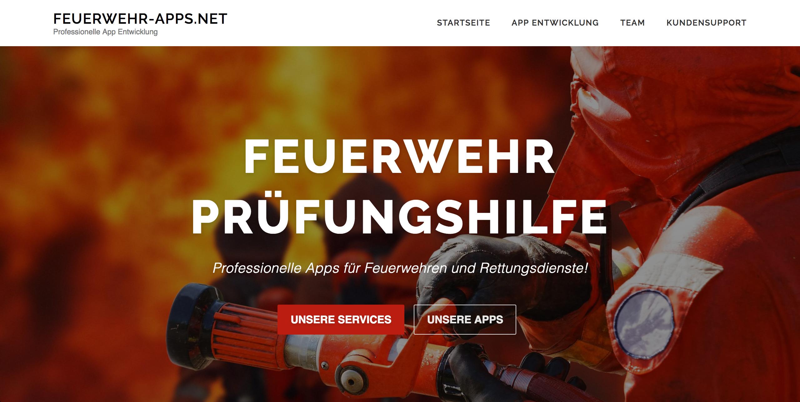 Feuerwehr-Apps